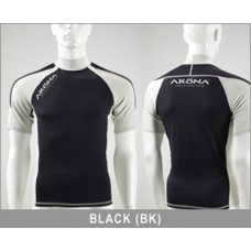 Akona Short Sleeve Rash Guard - Unisex