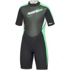 BARE 2mm Youth Tadpole Shorty Wetsuit - Green