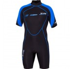 Bare 2mm Sport S-Flex Shorty Wetsuit, Mens, Blue - M