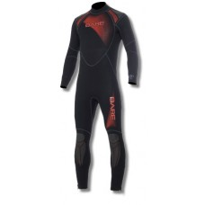 BARE 1mm Sport Full Red Mens Wetsuit