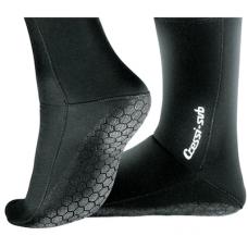 Cressi 2.5mm Anti-Slip Sock Boots, Black