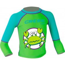 Cressi Pequeno Kids Rash Guard - Crab