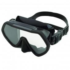Riffe Frameless Mask Black Silicone
