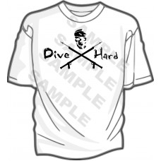 Dive Hard  Speargun T-Shirt