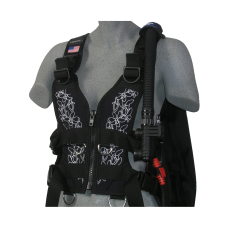 Zeagle Zena Women's BCD White Floral Small Used