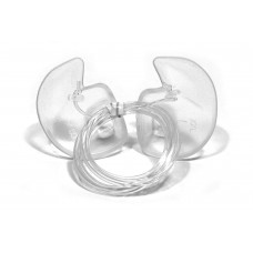 Doc's Pro Plugs Vented Pro Ear Plugs with Leash - Clear