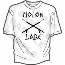 Molon Labe Speargun T-Shirt